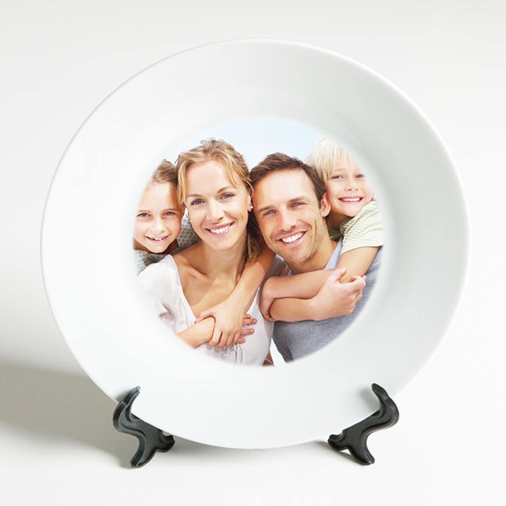 Фотопечать на тарелках курск